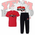 Yelm HS Track & Field Regular Hooded Sweatshirt SpiritPack.