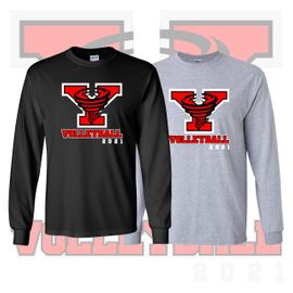 Yelm HS Volleyball Long Sleeve T-Shirt.