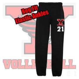 Yelm HS Volleyball Sweatpants.
