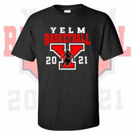 Yelm HS Girls Basketball T-Shirt.