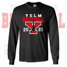 Yelm HS Girls Basketball Long Sleeve T-Shirt.