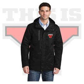 Yelm HS Staff Port Authority All-Conditions Jacket. J331.