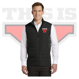 Yelm HS Staff Port Authority Collective Insulated Vest. J903.