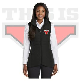 Yelm HS Staff Port Authority Ladies Collective Insulated Vest. L903.