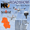 KR Road Show - Join us for FREE seminars and field demos.  Drones:  What you need to know.  Coming to a city near you.