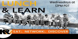 KR Lunch and Learn - Our free 30 min webinar series to keep you up to date with our industries latest products and services.