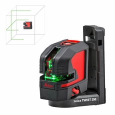 Leica Lino L2Gs-1 Green Beam Cross Line Laser - Outstanding green laser visibility at an attractive entry price point (912932)
