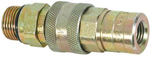 "1/4"" NPT Coupler, Female Hose, Male Block, replaces Meyer 15848C, Buyers SAM 1304028C"