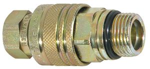 "1/4"" NPT Coupler, Male Hose, Female Block, replaces Meyer 15847C, Buyers SAM 1304029C"