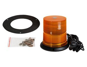 6.5 Inch by 6.5 Inch LED Beacon with Tall Lens, Buyers SL665A