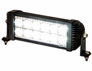 """12.375"""" Clear Combination Spot-Flood Light Bar With 12 LED, Buyers 1492150"""