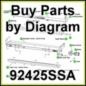 92425SSA SaltDogg Hydraulic UTG Spreader Parts by Diagram