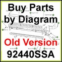 92440SSA (older model) SaltDogg Electric UTG Spreader Parts by Diagram