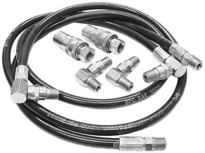 Angle Hydraulic Hose Replacement Kit, Buyers SAM 1304060