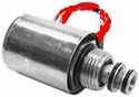 B Solenoid, Coil and Valve, Red Wire, replaces Meyer 15357, Buyers SAM 1306040