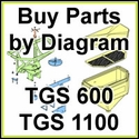 Boss TGS 600 & TGS 1100 Spreader Parts & Diagram