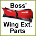 Boss Wing Extension Kit (MSC08042B) + (MSC08063) Power-V XT Replacement Parts