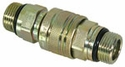 Coupler Complete, Male - Female, 3/4-16 Valve Block Side, Buyers SAM1304027