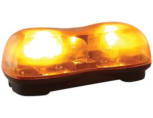 16.5 Inch by 6 Inch Halogen Revolving Light Bar, Buyers 8891020