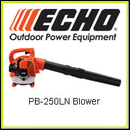 Echo PB-250LN, Light Weight & Low Noise Blower