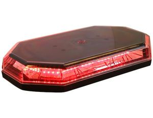Hex. Red LED Mini Lightbar, Buyers 8891063