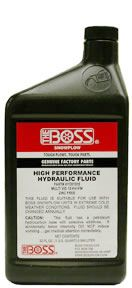 Hydraulic Fluid - Oil, 1 Case (12 quarts), Boss HYD01704