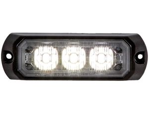 3.5 Inch LED Strobe Light, Clear, Buyers 8891401