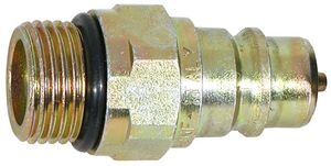Male 3/4-16 Valve Block Side Low Spill, replaces Meyer 22293, Buyers SAM 1304028