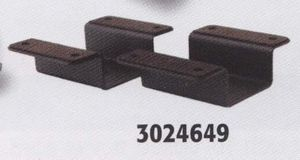Modular Mount, Bracket, Flat Wide Surface, Adjustable Width, Buyers 3024649