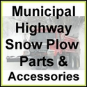 Municipal Highway Snow Plow Parts & Accessories