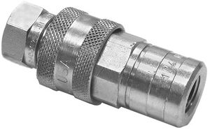 """Quick Coupler, 1/4"""", replaces Fisher A1587, Buyers SAM 1304025"""
