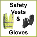 Safety Vests & Work Gloves