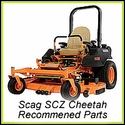 Scag SCZ Cheetah - Recommended Parts