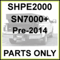 SHPE2000 S/N7500-SN12799, Pre2014, SaltDogg 2.0 Cu. Yd. Poly Spreader Parts
