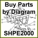 SHPE2000 SaltDogg Salt Spreader Parts by Diagram