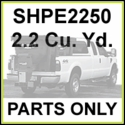 SHPE2250, SaltDogg 2.2 Cu. Yd. Poly Spreader Parts