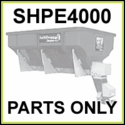 SHPE4000 SaltDogg 4.0 Cu. Yd. Poly Spreader Parts
