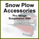 Snow Plow Accessories, Pro Wings, Suspension Kits, Blade Guides