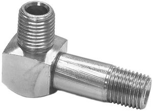 """Snow Plow Male Elbow, 1/4"""" x 90 Degree - Special, replaces Western 92275, Buyers SAM 1304245"""