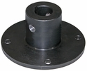 "Spinner Hub, Universal (Keyed & Cross Drilled), 2-7/8"" High, Buyers SaltDogg 924F0017T"
