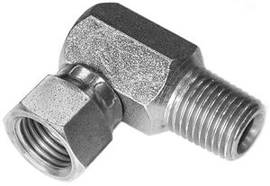 """Swivel Adapter, 1/4"""" x 90, replaces Fisher 319, Buyers SAM 1304315"""