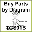 TGS01 B SaltDogg Salt Spreader Parts by Diagram