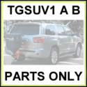 TGSUV1 A B SaltDogg Sand and Salt Spreader Parts