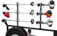 Trimmer Rack Lockable, Channel Style, Open Trailer, Buyers LT13