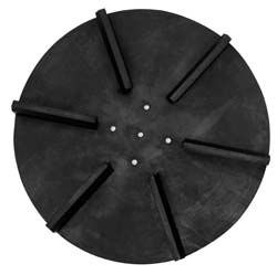 "Universal Spinner, 18"" Diameter, Poly, CW, Buyers SAM 9240016A"