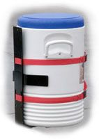 Water Cooler Rack, for Open & Enclosed Trailers, Buyers LT25