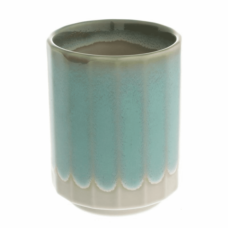 16 Faceted Jade Green Sushi Cup, 11 oz.