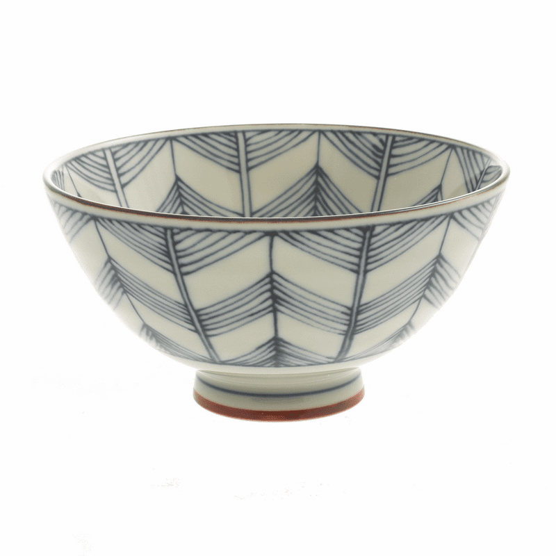 Aitique Kimon Star Design Rice Bowl
