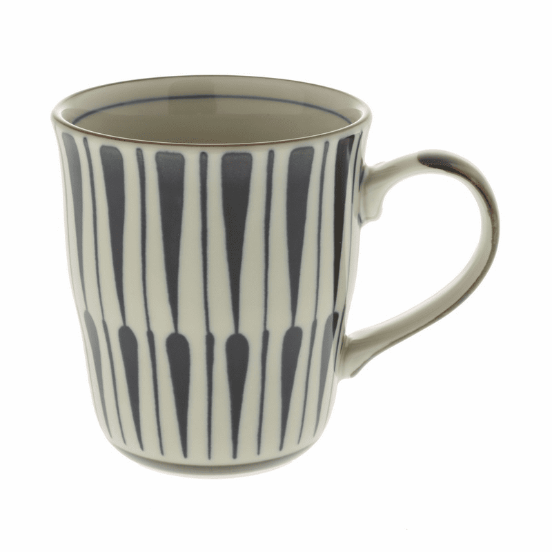 Antigue Kimon Flower Mug, 10 oz.