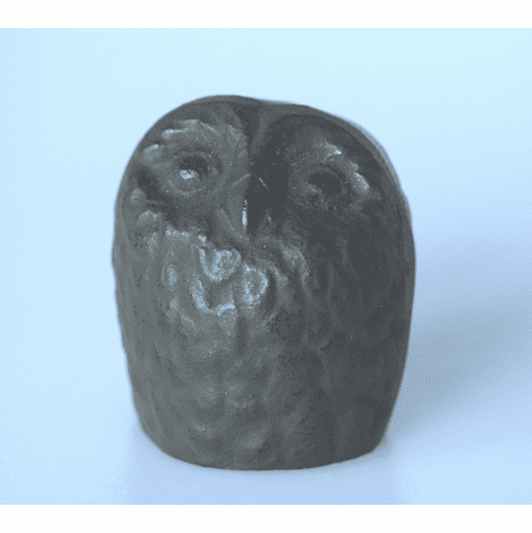 Antique Brown Color Owl Cast Iron Paper Weight